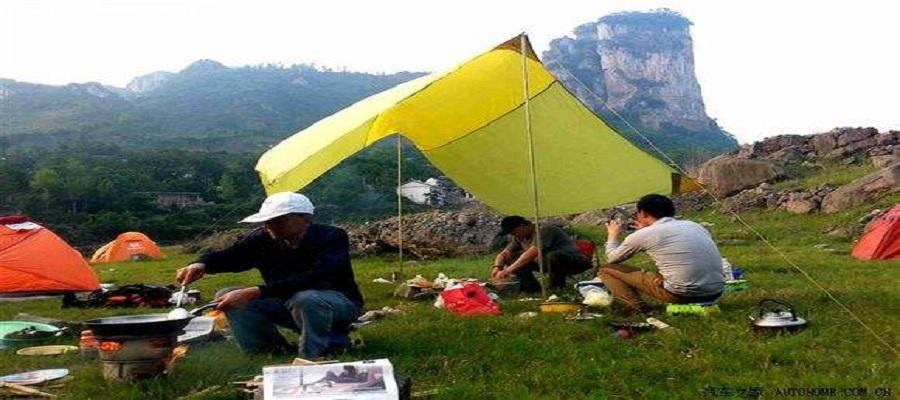陕西太平峪西寺沟山野营地(第1张)