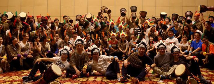 [ 非洲鼓大型团建 ] 鼓乐飞扬 非洲鼓主题团建,用鼓乐激发团队活力,焕发激情。(第3张)