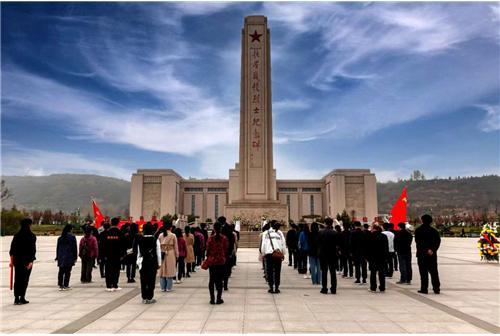 陕西扶眉战役纪念馆红色线路党建活动